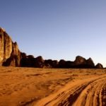 camping in wadi rum desert
