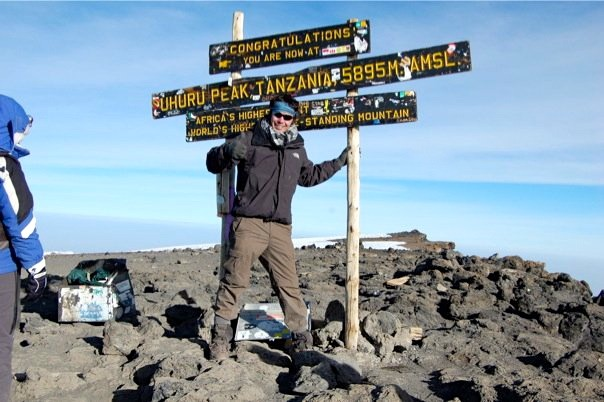 Climbing Mount Kilimanjaro, Tanzania