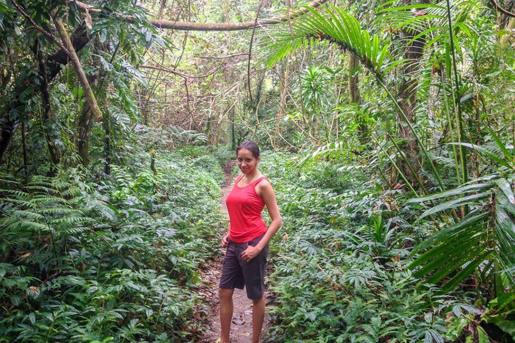 Kia on the trail
