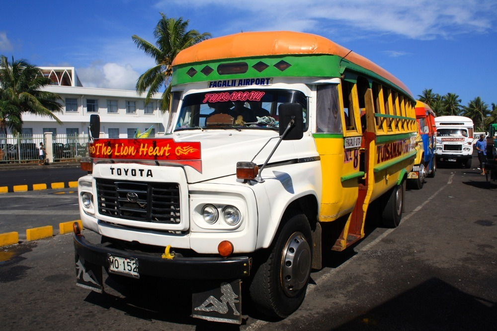 Samoan buses in Samoa