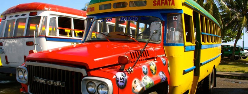 buses in Samoa