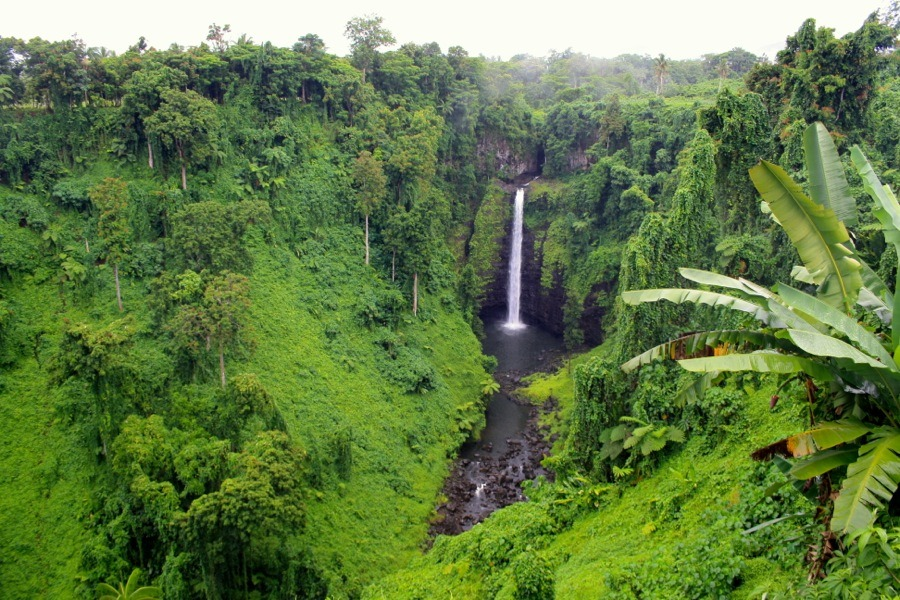 natural wonders of samoa