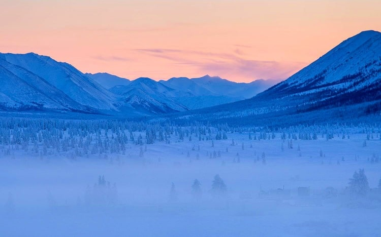 Oymyakon is one of the coldest places on the planet