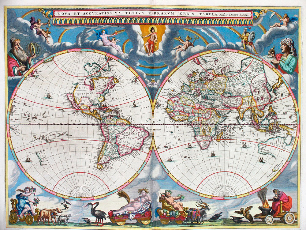 maps that changed our world view-Bleau