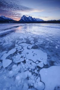 stunning natural phenomena ice bubbles