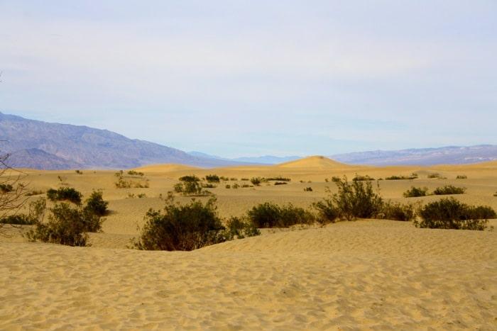 american road trip death valley