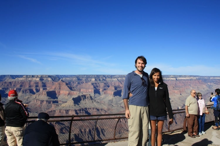 Mather Point is one of the things to do at the Grand Canyon