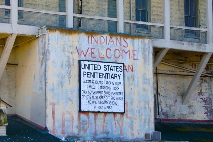 photo of visiting Alcatraz prison