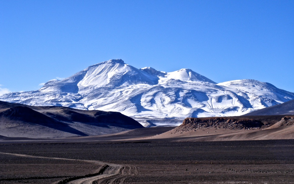 Ojos del Salado is the highest of the seven volcanic summits