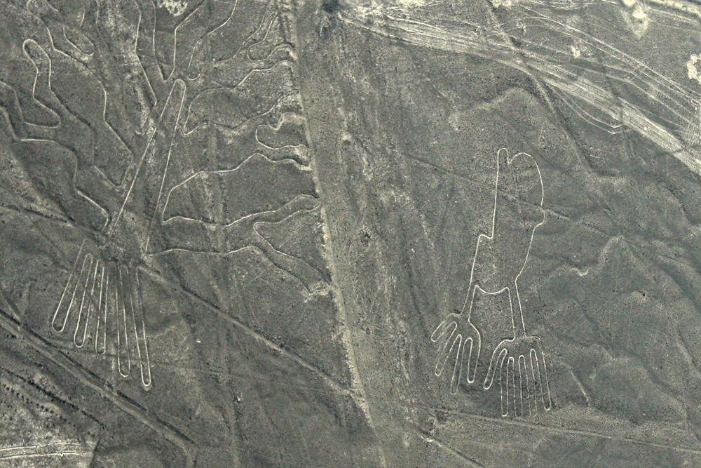 view from the window of the Nazca Lines