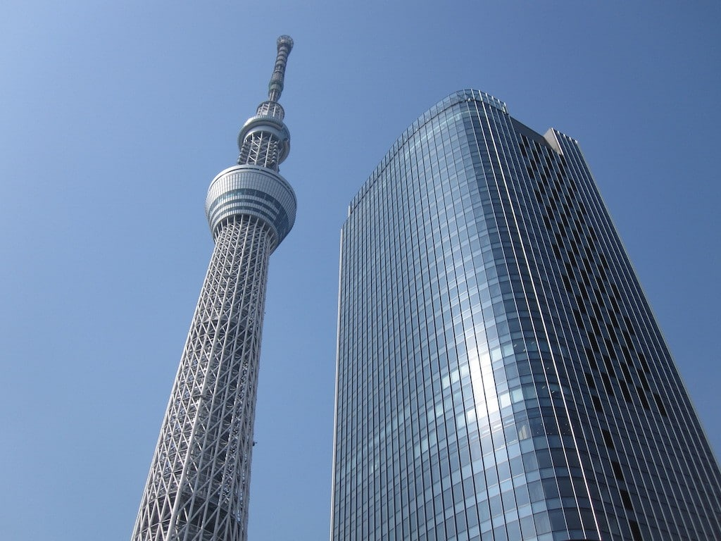 biggest buildings in the world tokyo
