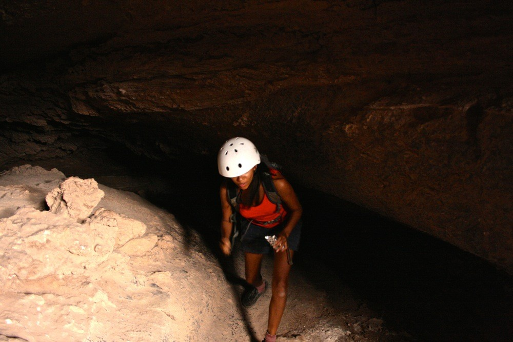 caving at the driest place on earth