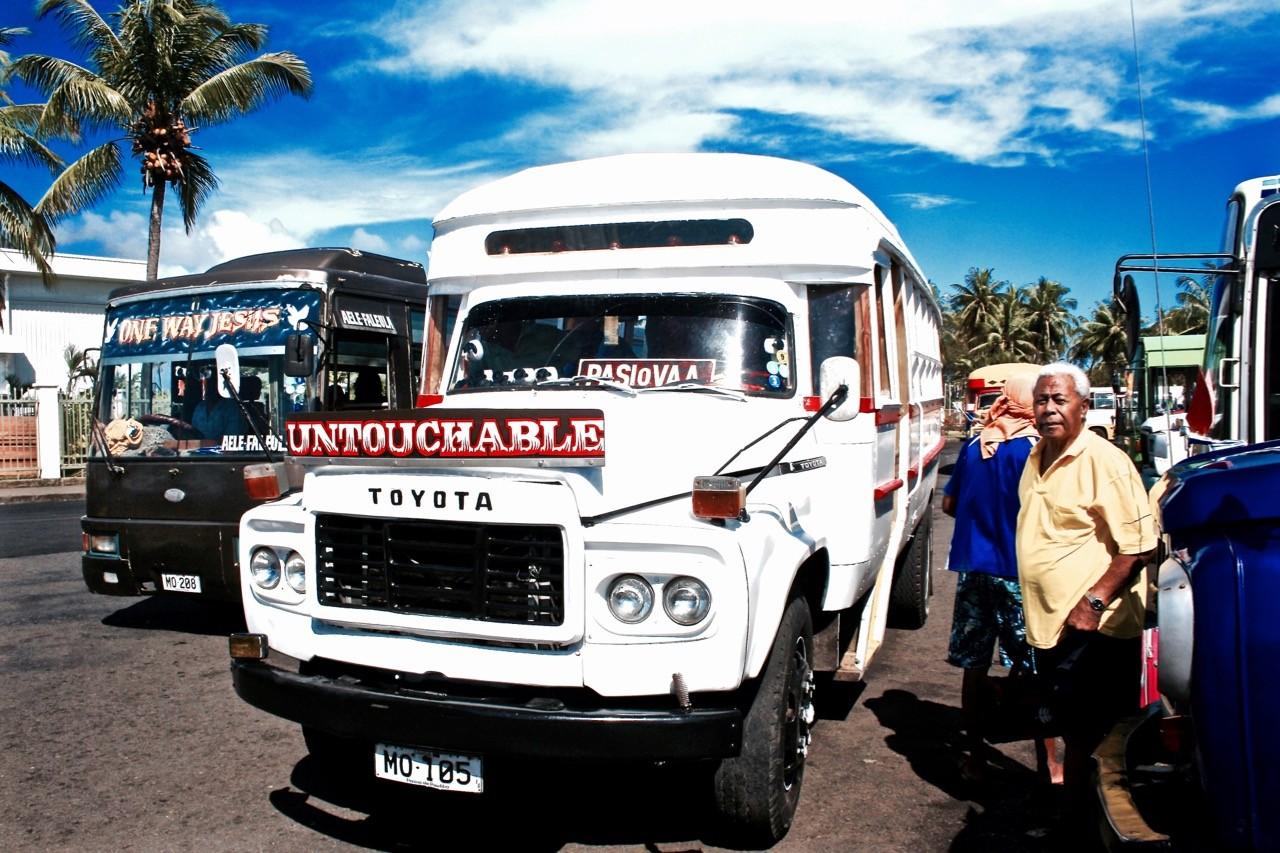 Samoan buses