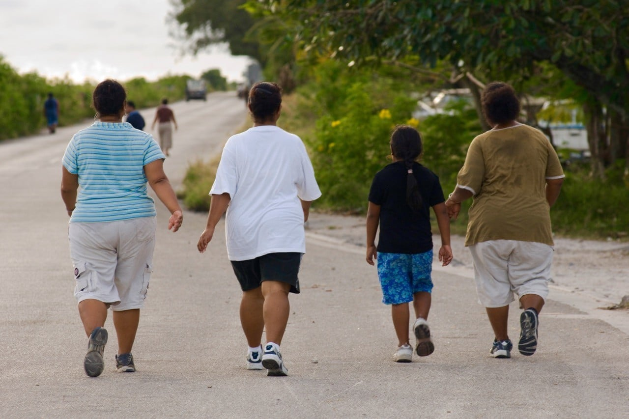least known countries facts Nauru obesity