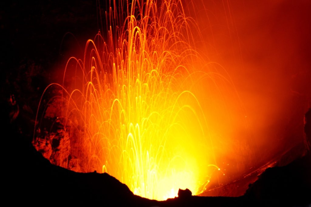 Mount Yasur on Tanna Island
