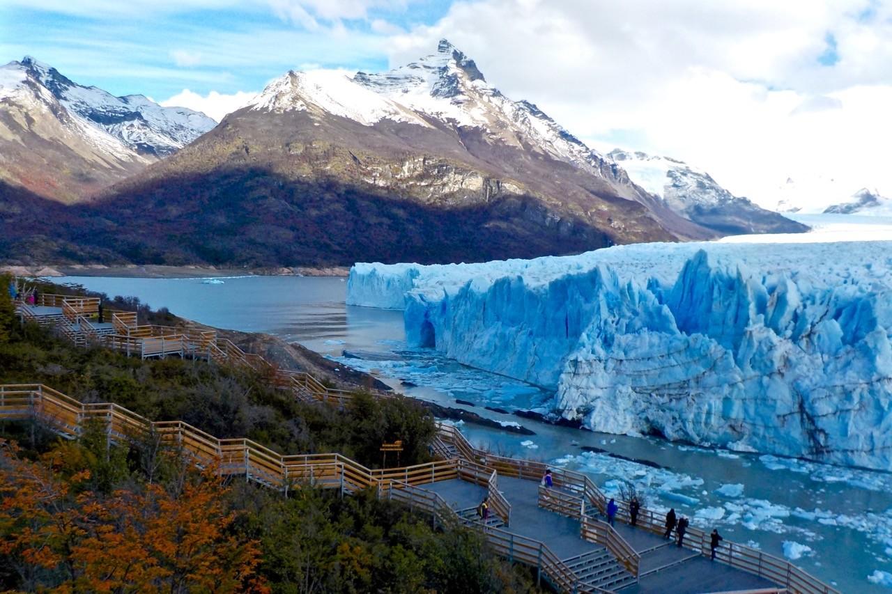 visiting perito moreno glacier argentina atlas boots