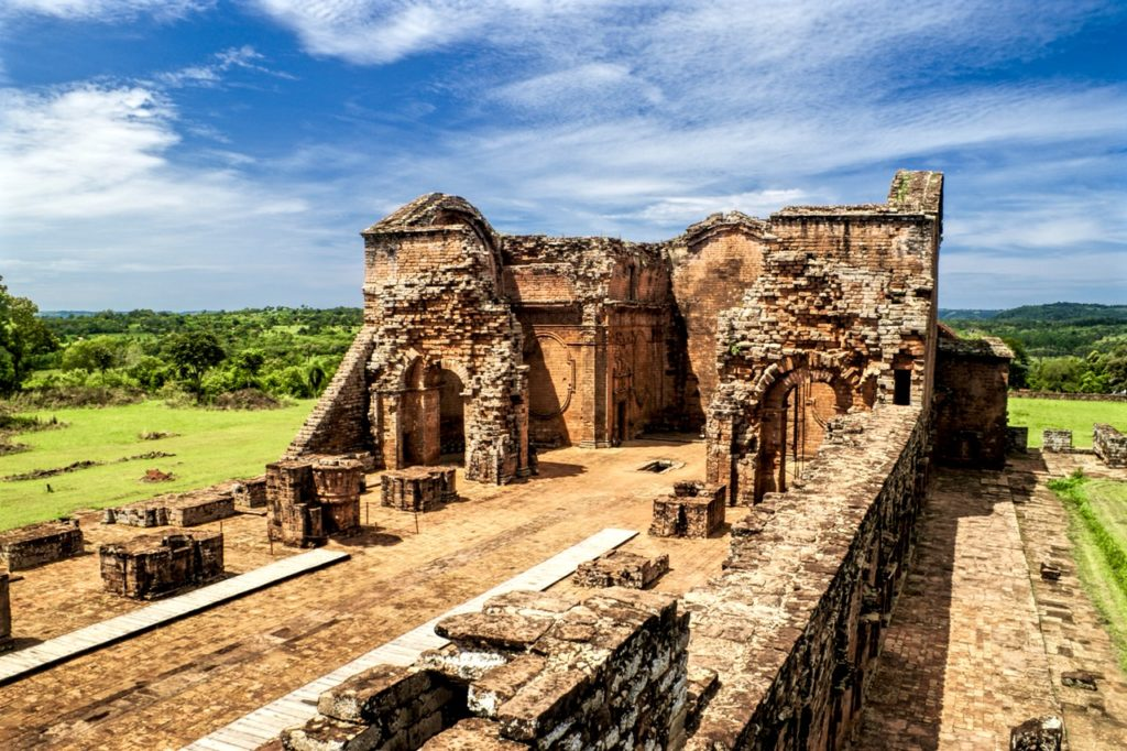 Jesuit ruins in Paraguay