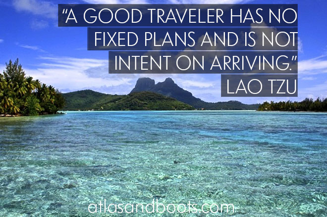 A good traveler... inspirational travel quotes