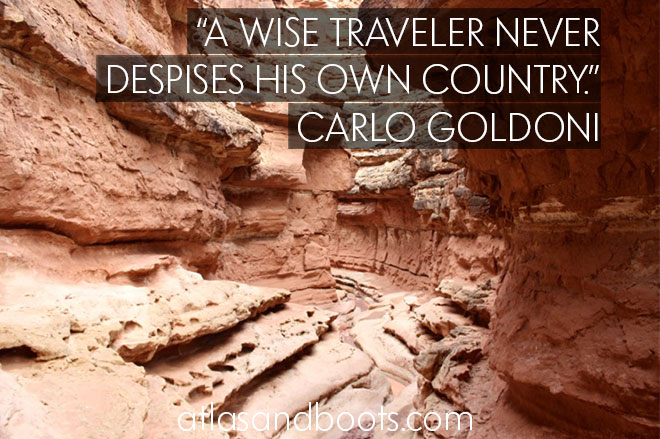 A wise traveler... inspirational travel quotes