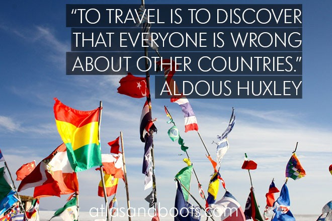 To travel is to discover...