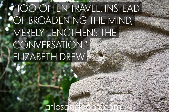Travel broadens the mind inspirational travel quotes
