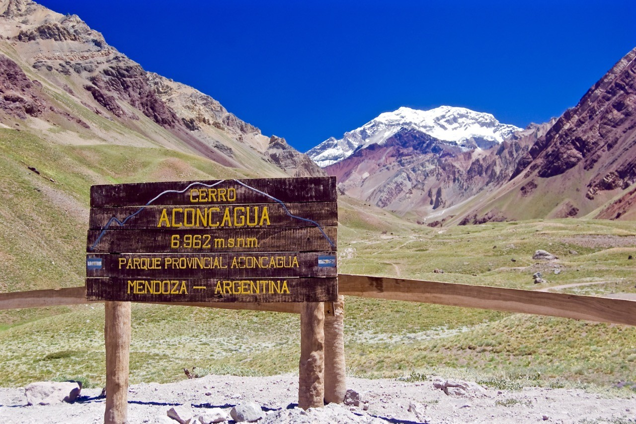 climbing the seven summits south america