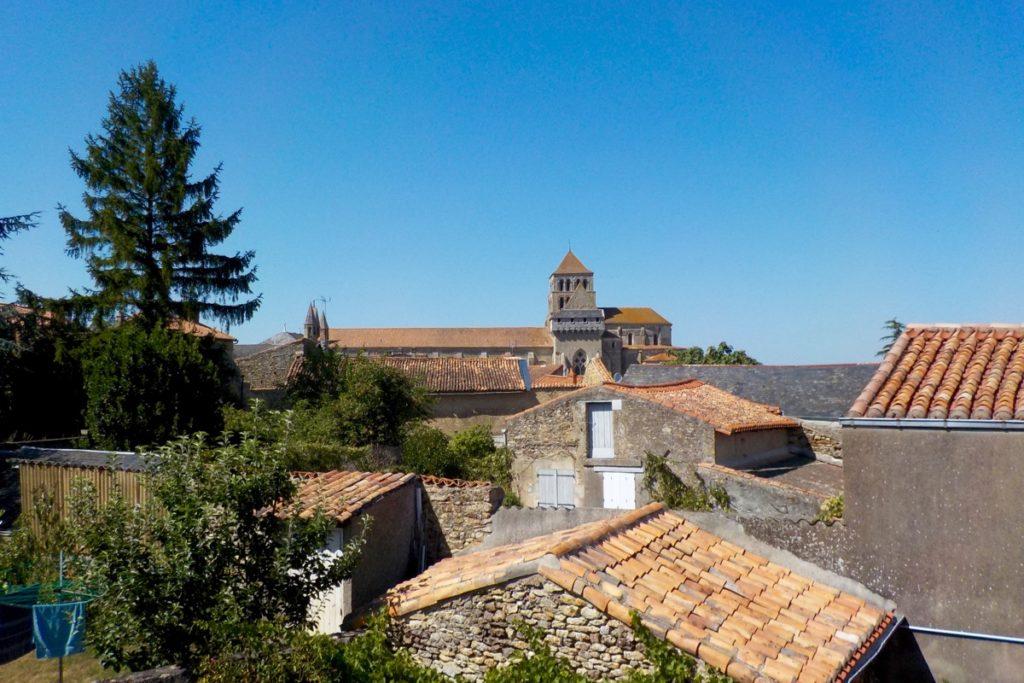 A view of Saint Jouin de Marnes French village