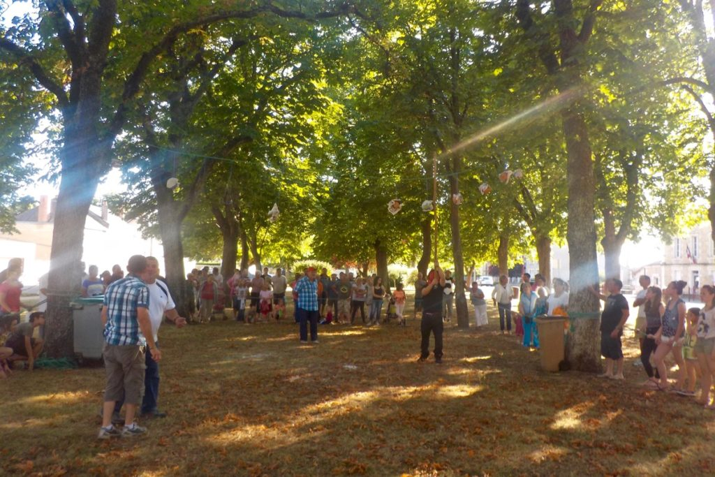 Village fete in our French village