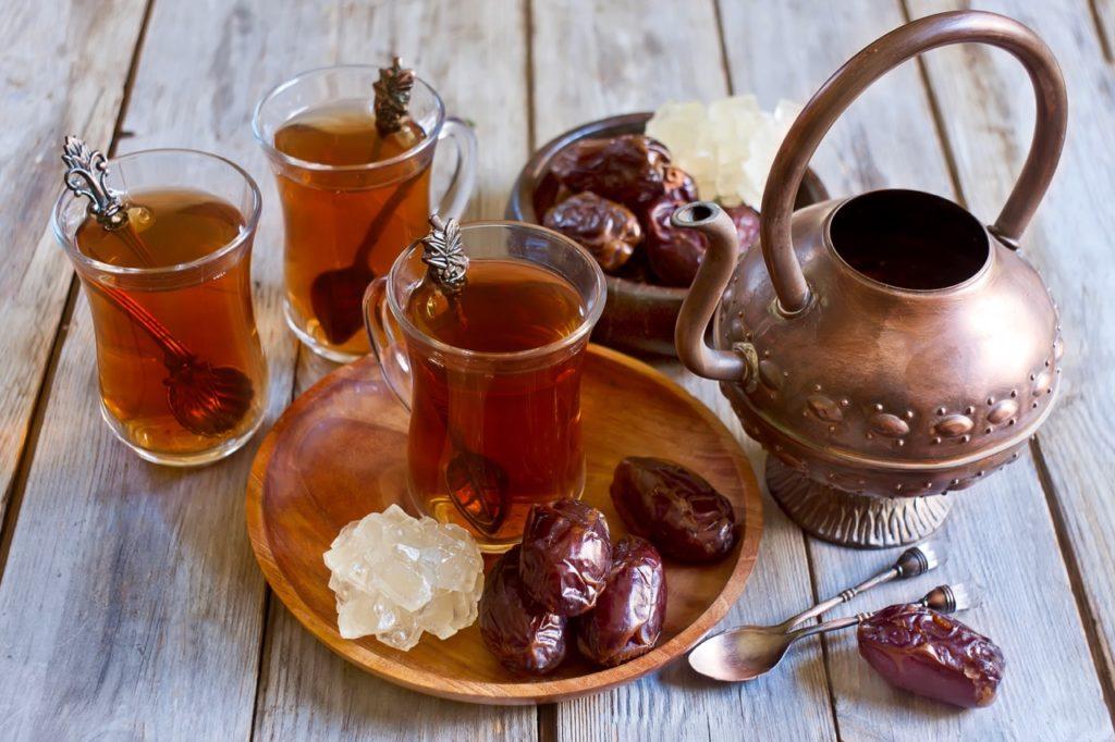 Hardest language to learn: Arabic tea set