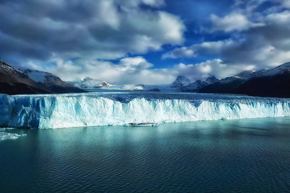 lessons from our trip around the world lead image showing perito moreno glacier in Argentina