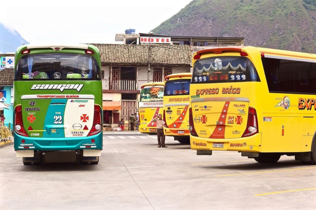 Visiting Ecuador: buses