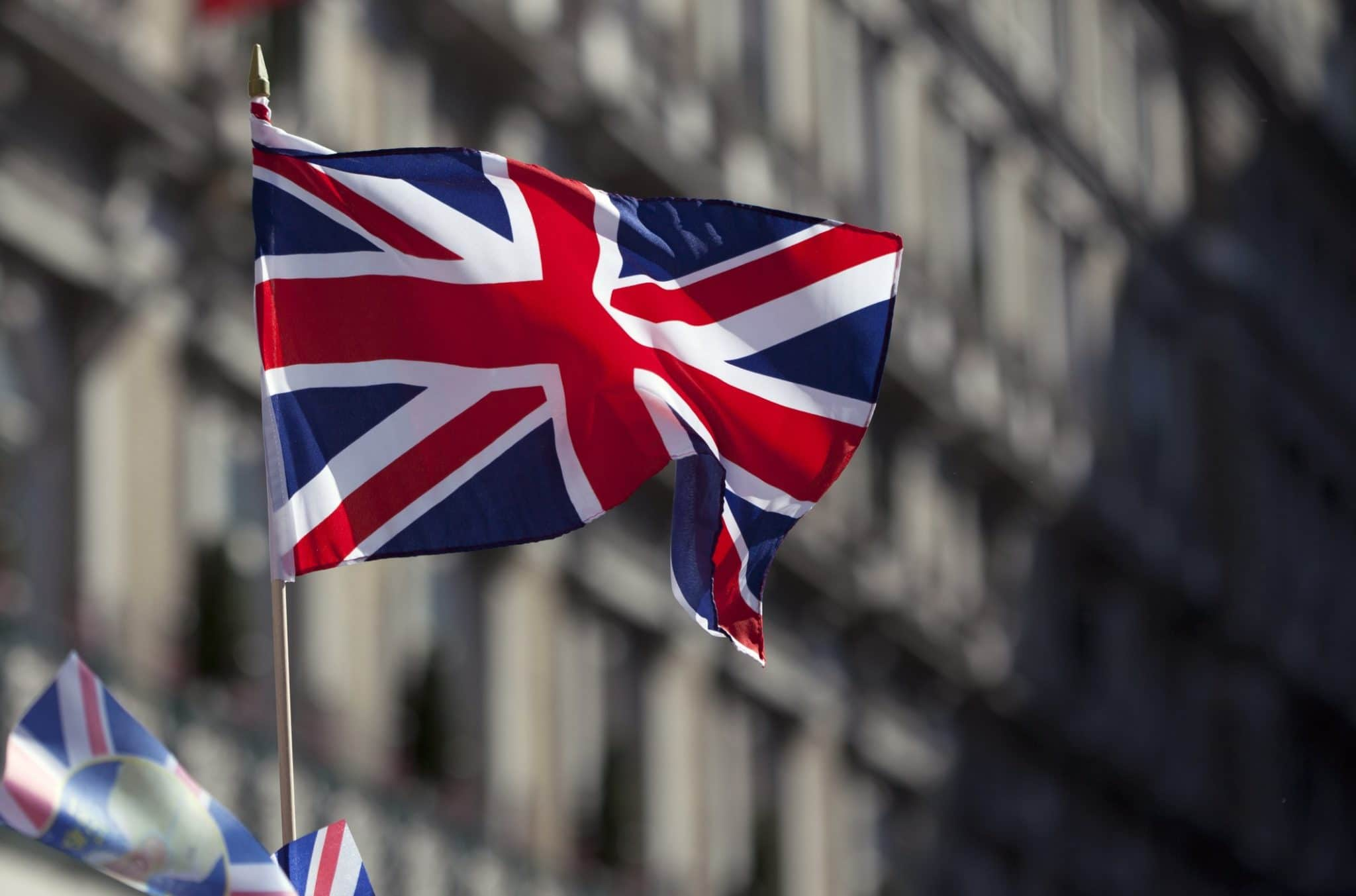 words that don't exist in English: British flag