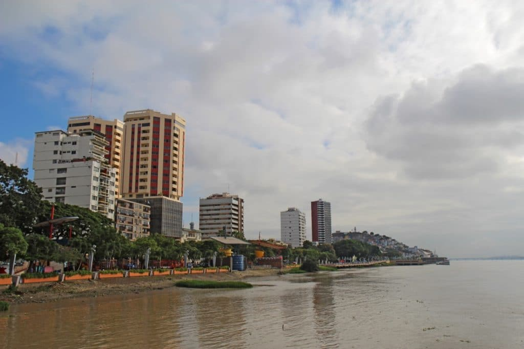 Guayaquil is one of the charmless South American towns