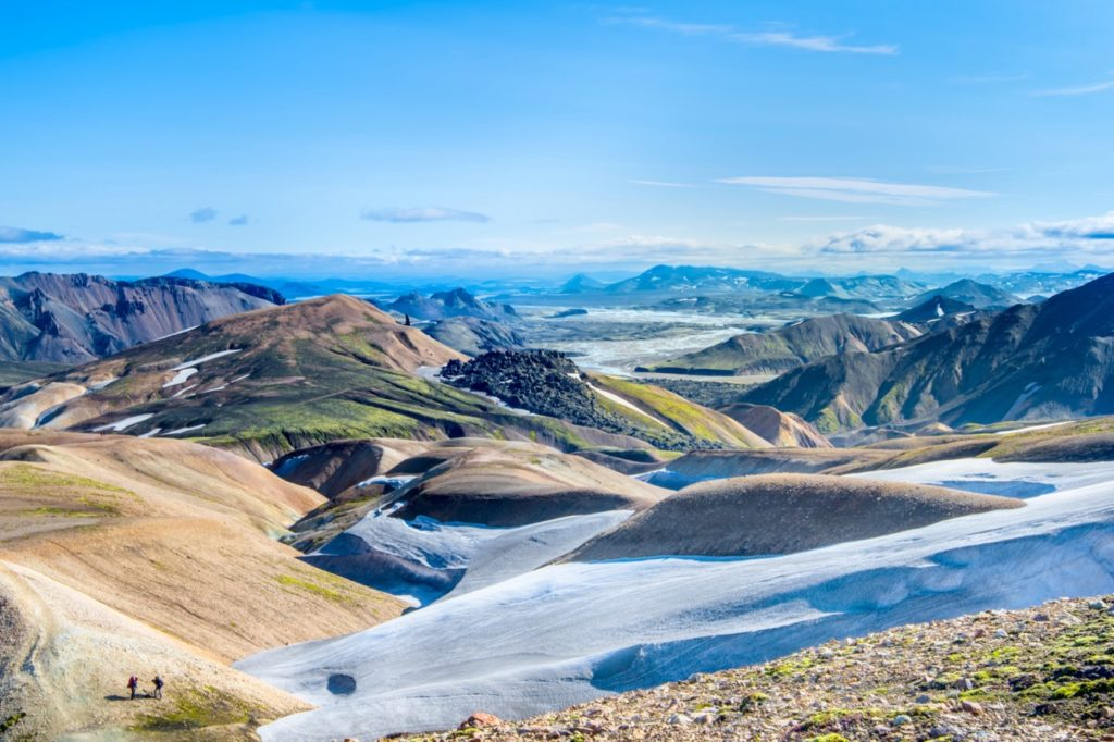 Hikes in the cleanest air in the world - iceland