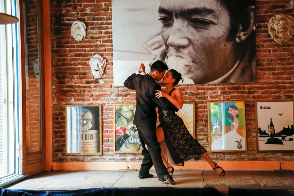 Tango originated in Buenos Aires