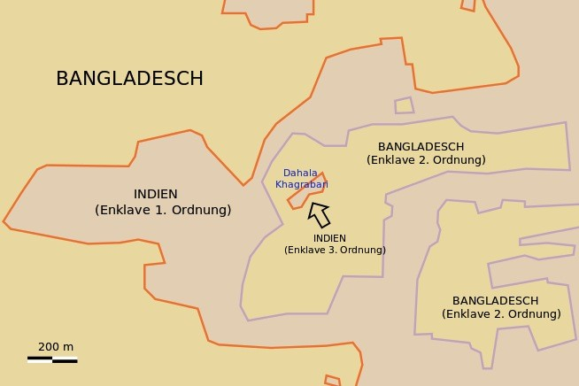 Dahala Khagrabari border