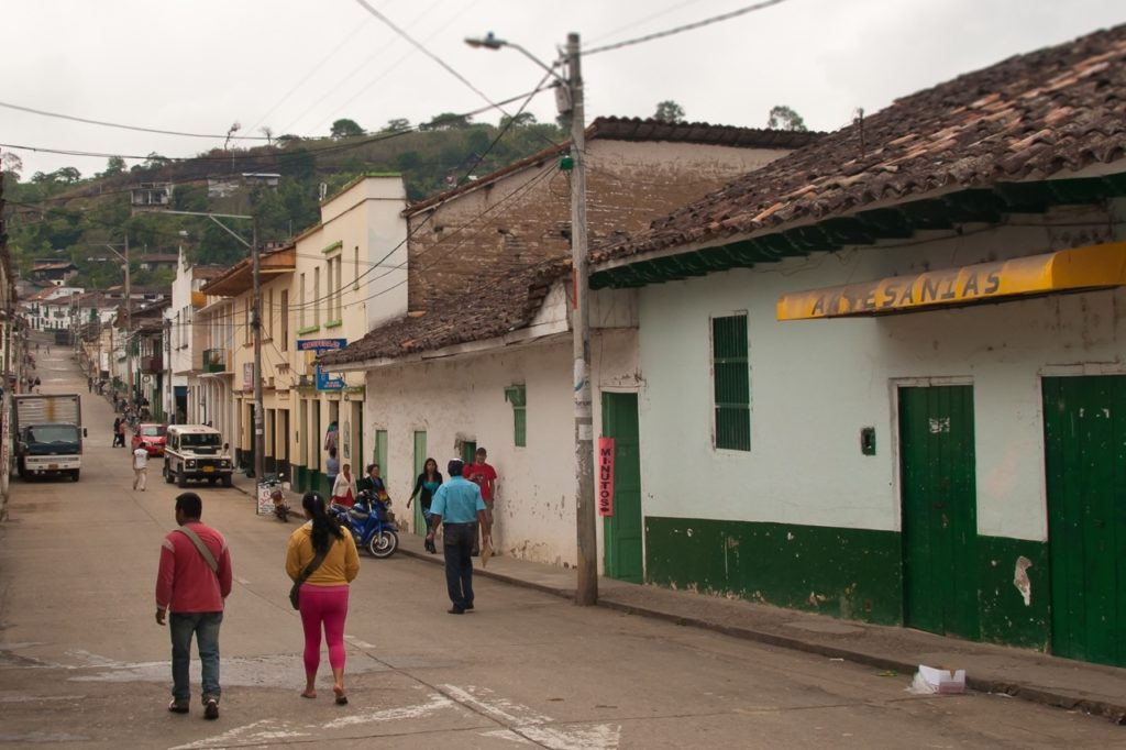 San augustin is one of the charmless South American towns