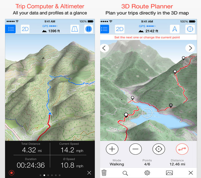 Best Hiking Apps Atlas Boots - Trail map apps