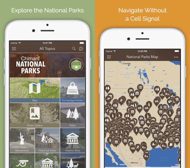 hiking-apps-natparks
