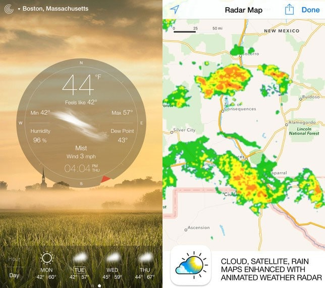 15 best hiking apps atlas boots hiking apps weatherlive gumiabroncs Choice Image