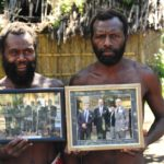 Two men in vanuatu, one of the world's least-known countries