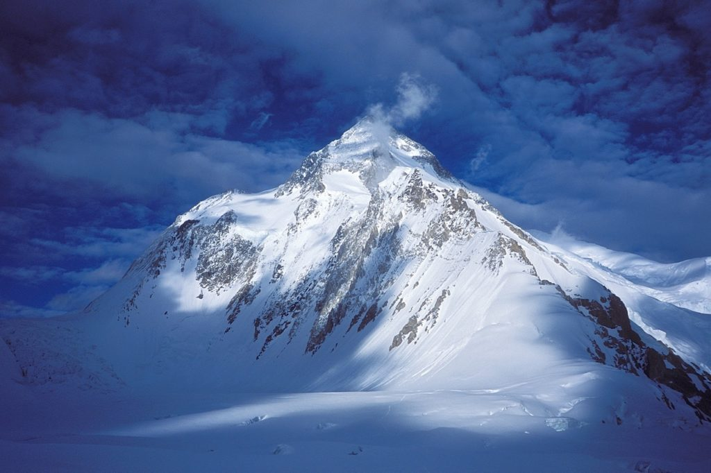 Gasherbrum I is one of the least popular eight-thousanders