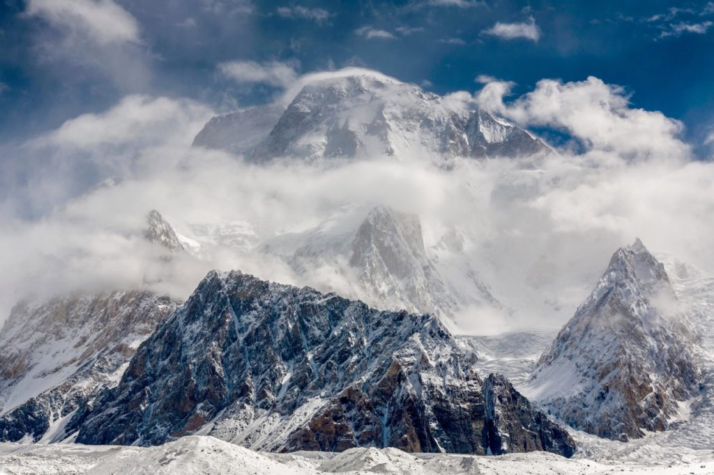 Broad Peak is often used as a precursor to K2