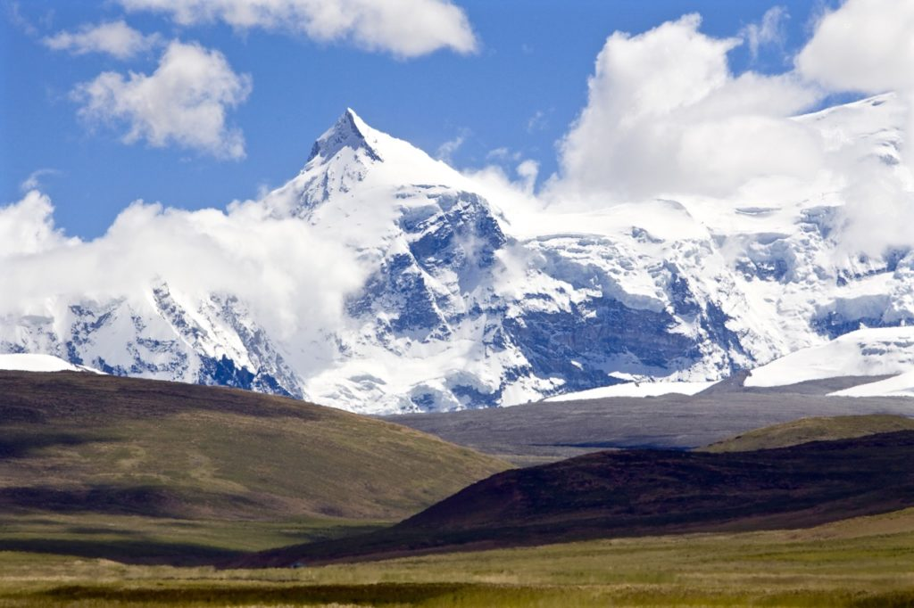 Shishapangma is the lowest of the eight-thousanders