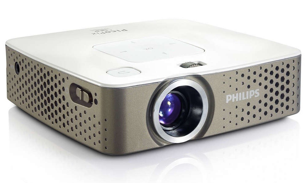 luxury travel gifts: picopix portable projector
