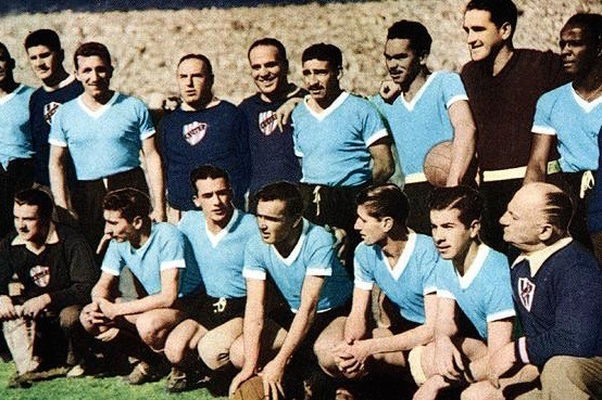 interesting facts about Uruguay world cup winners 1950