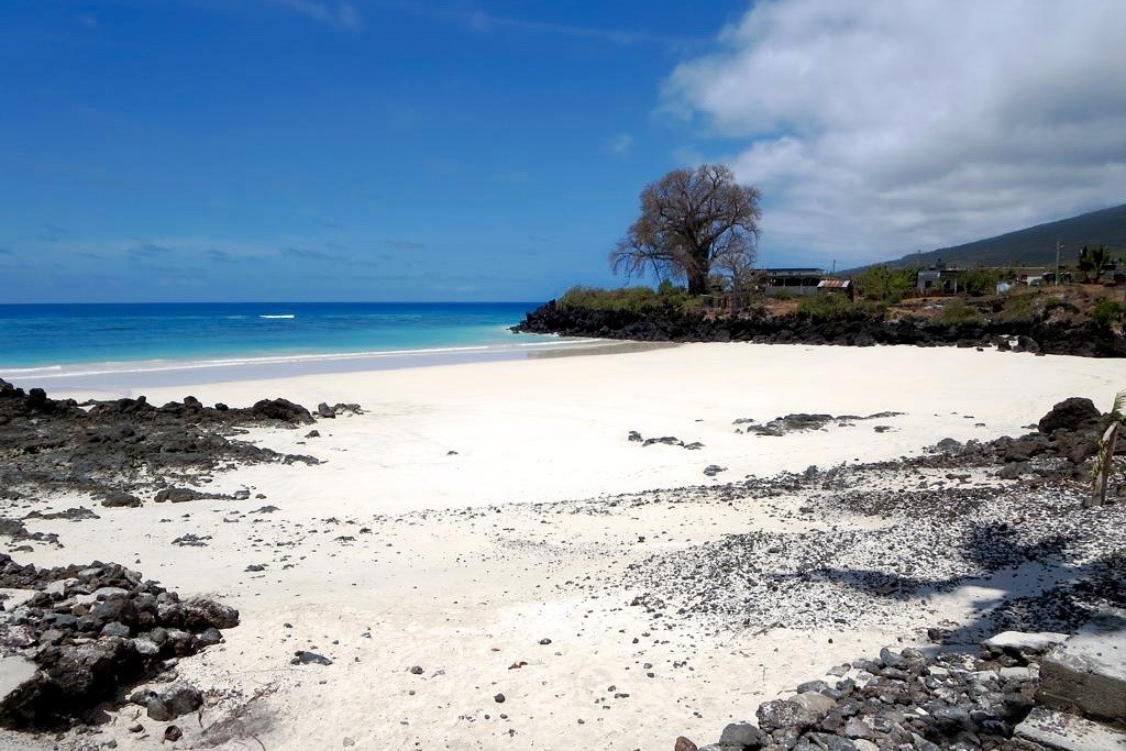 White sands on Comoros