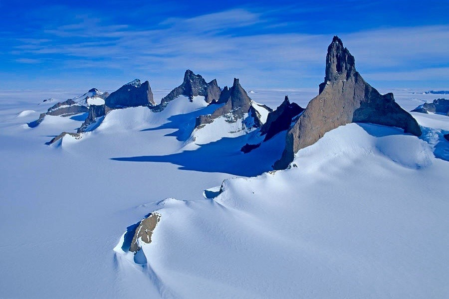 Ulvetanna is one of the most remote mountains in the world