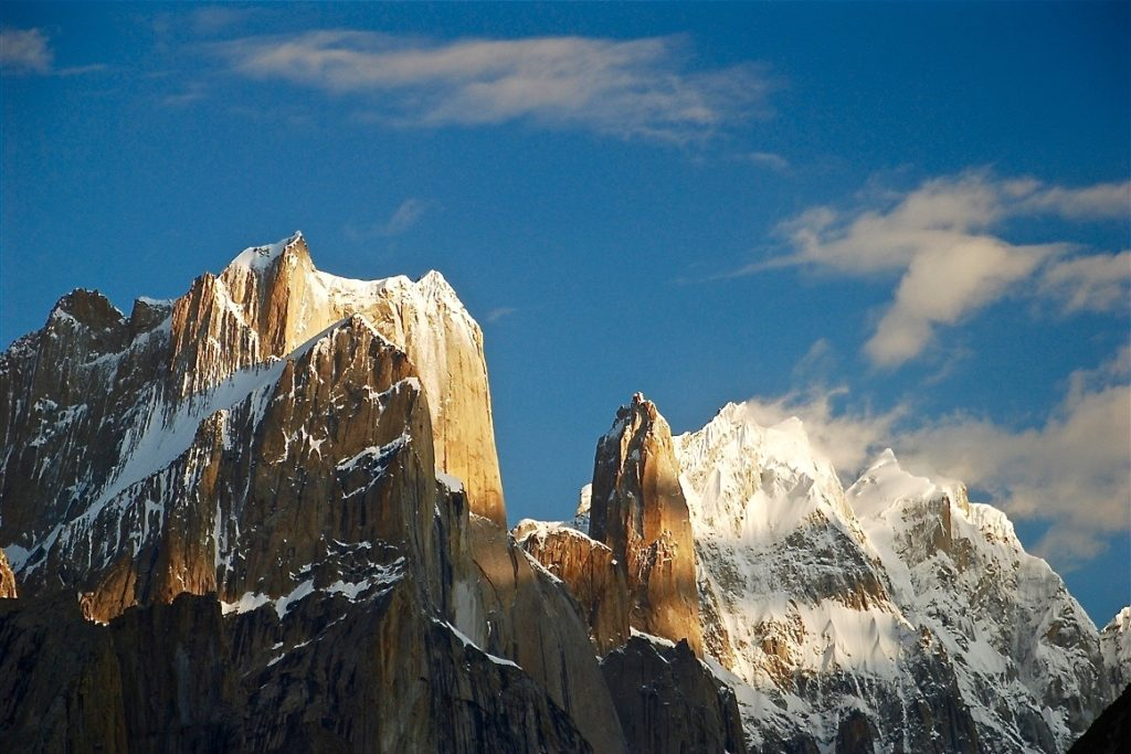 best big wall climbing: trango towers