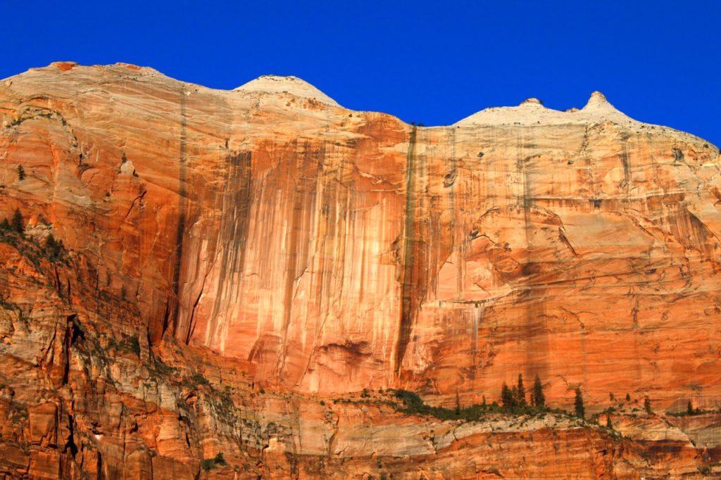 best big wall climbing: streaked wall, zion